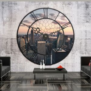 Fototapeta - NYC Time Zone