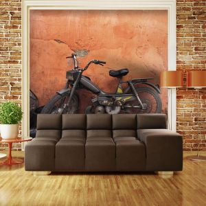 Fototapeta - Old moped
