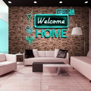 Fototapeta - Welcome home - inscription