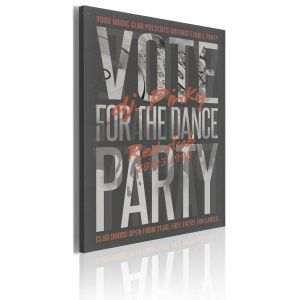 Obraz - Vote for the dance party!