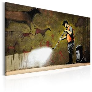 Obraz - Cave Painting by Banksy