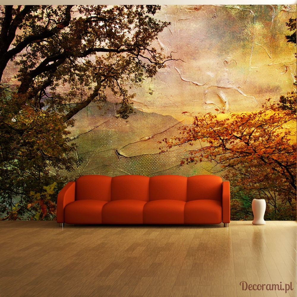 Fototapeta Painted Autumn